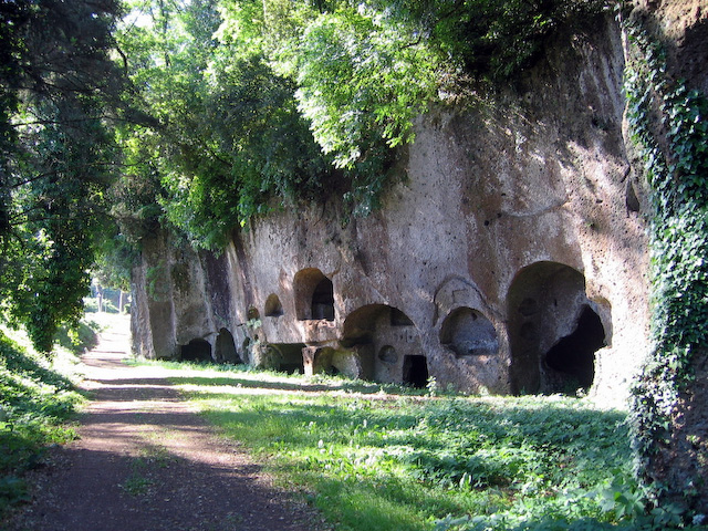 Etruscan tombs, Sutri