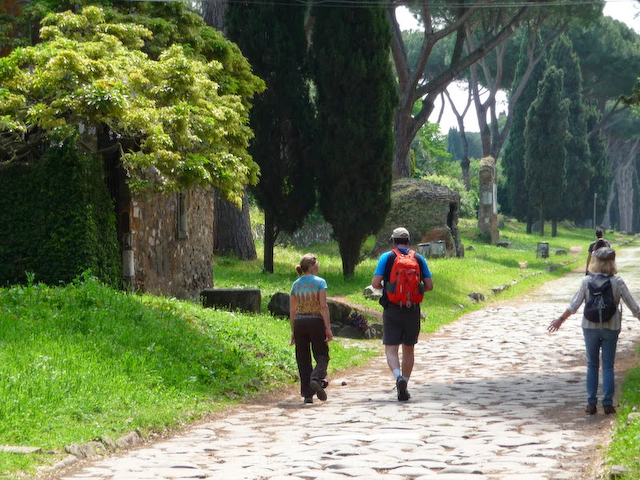 Appian Way near Rome
