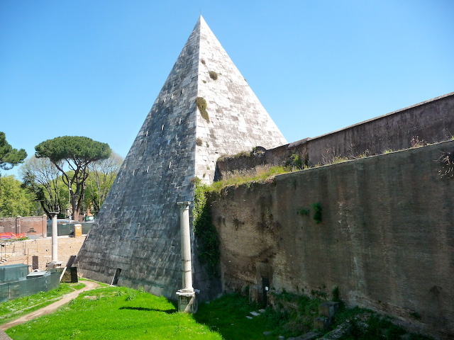 Pyramid to the Janiculum